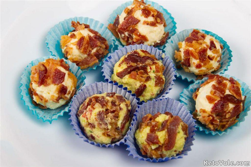 Bacon Egg Fat Bombs Recipe
