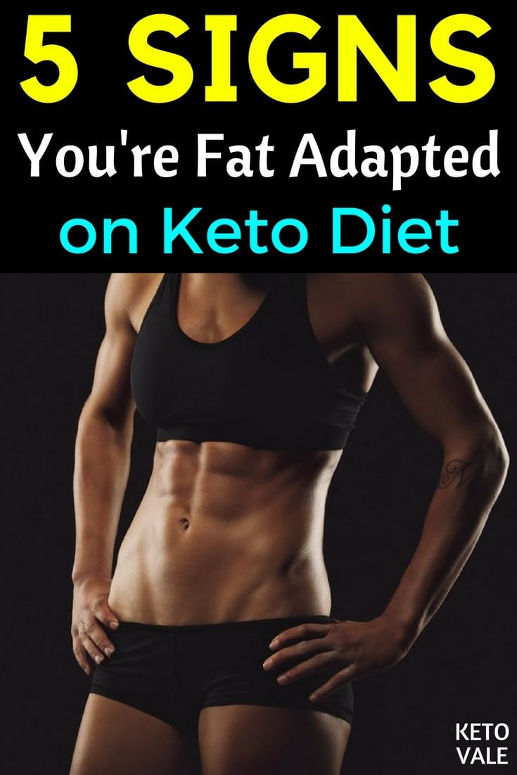 Signs You Are Fat Adapted on Keto Diet