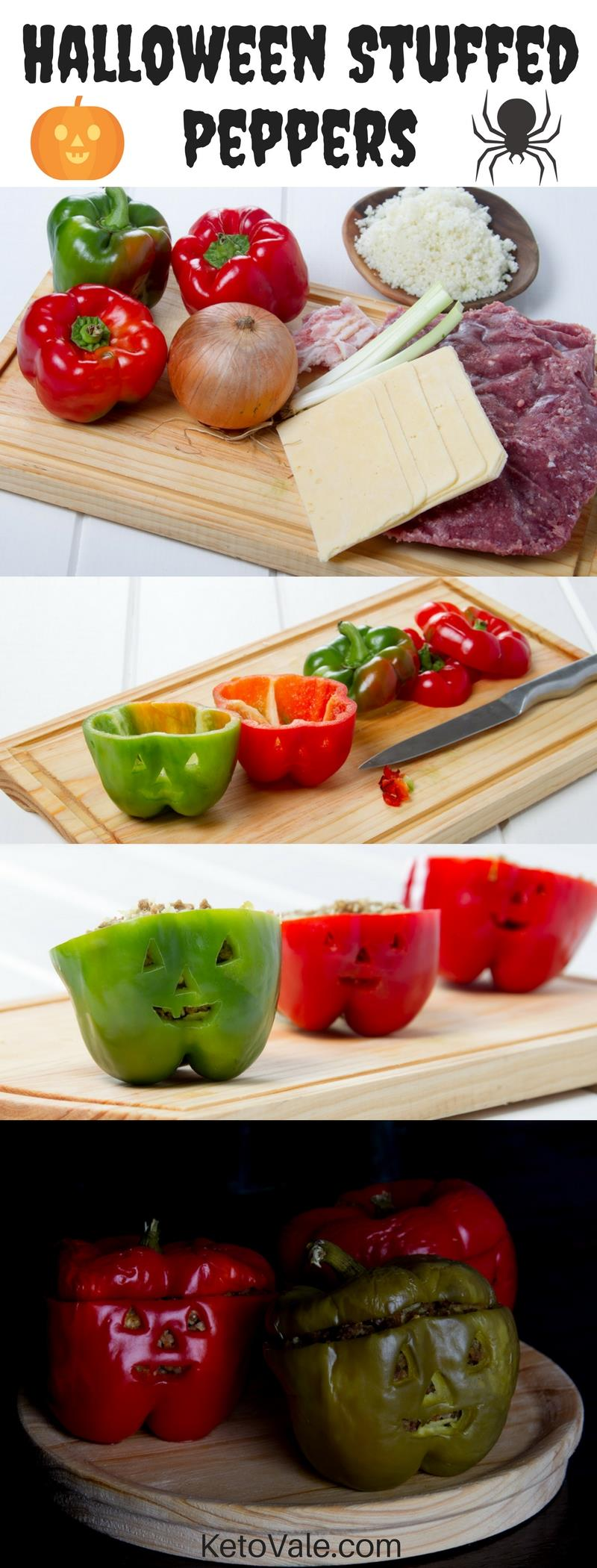 Halloween Stuffed Peppers Recipe