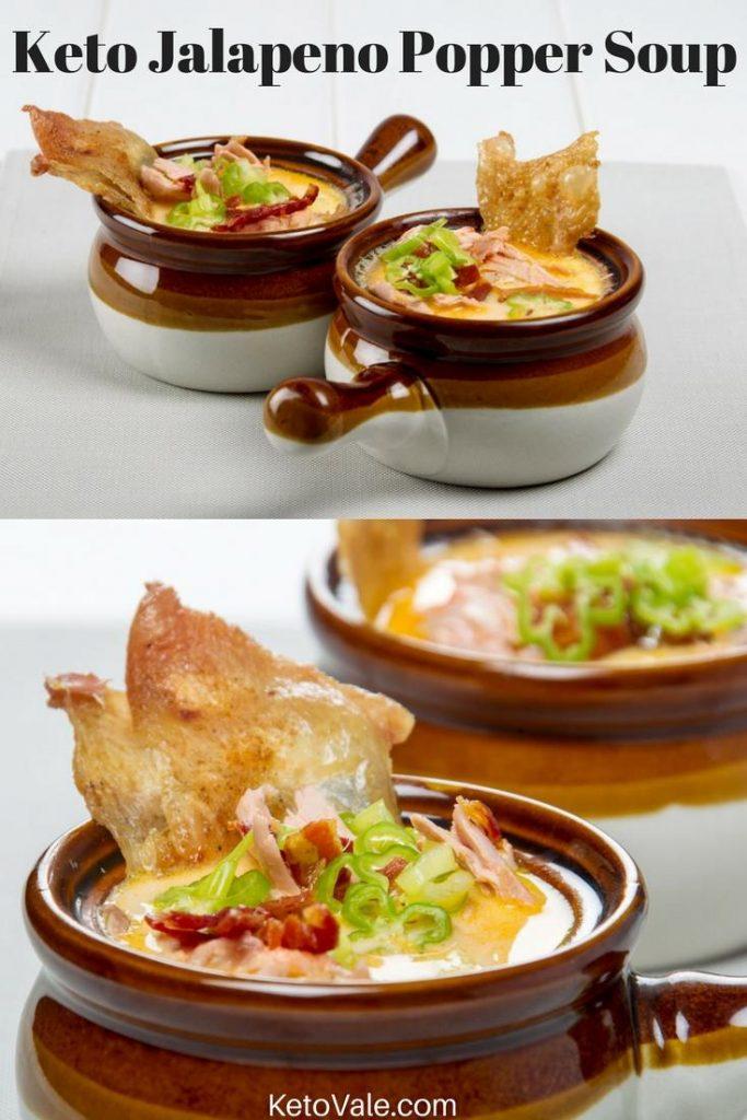 Keto Jalapeno Popper Soup