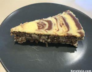 Keto Ricotta Cheesecake