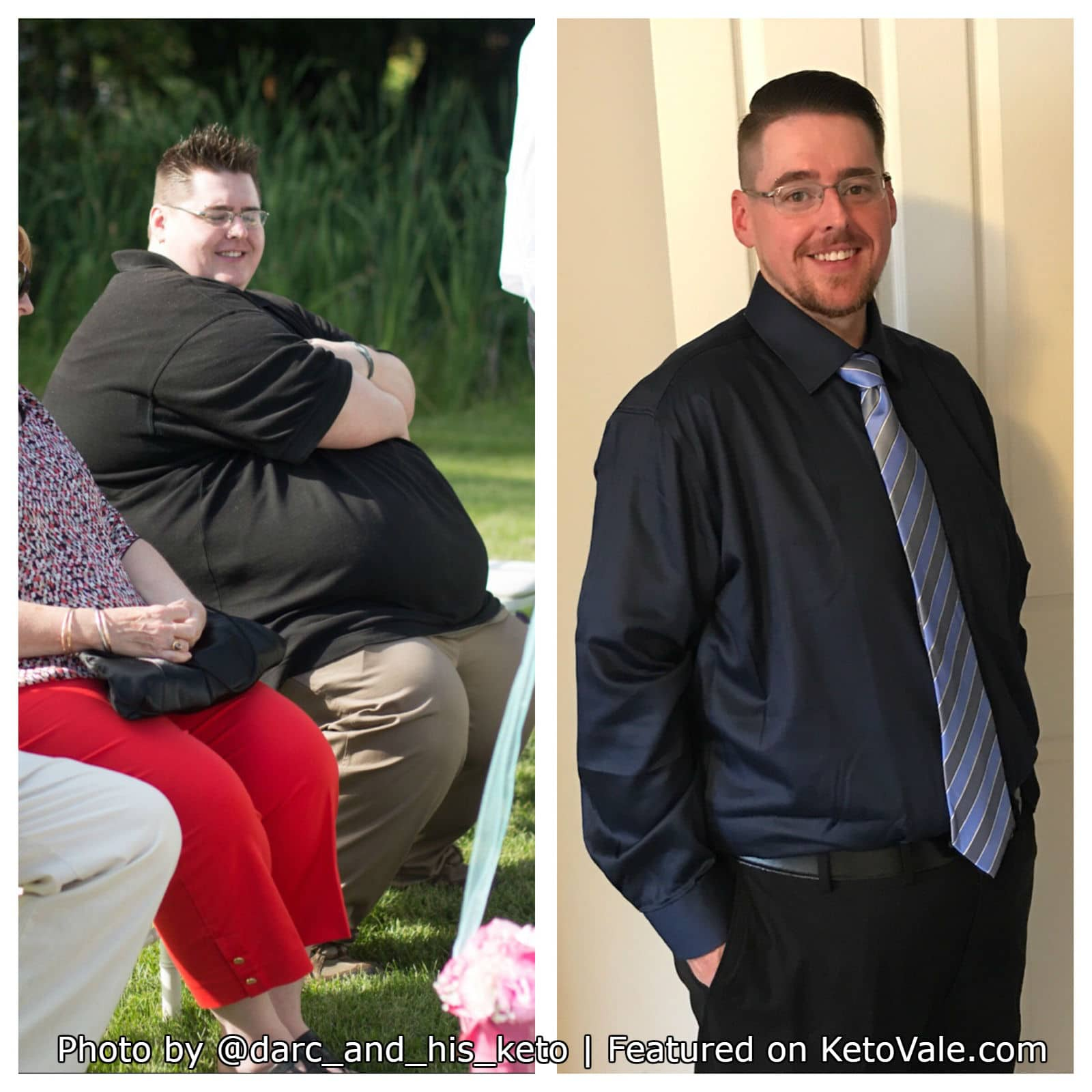 Kyle Matheson's 240Lbs Weight Loss Keto Success Story