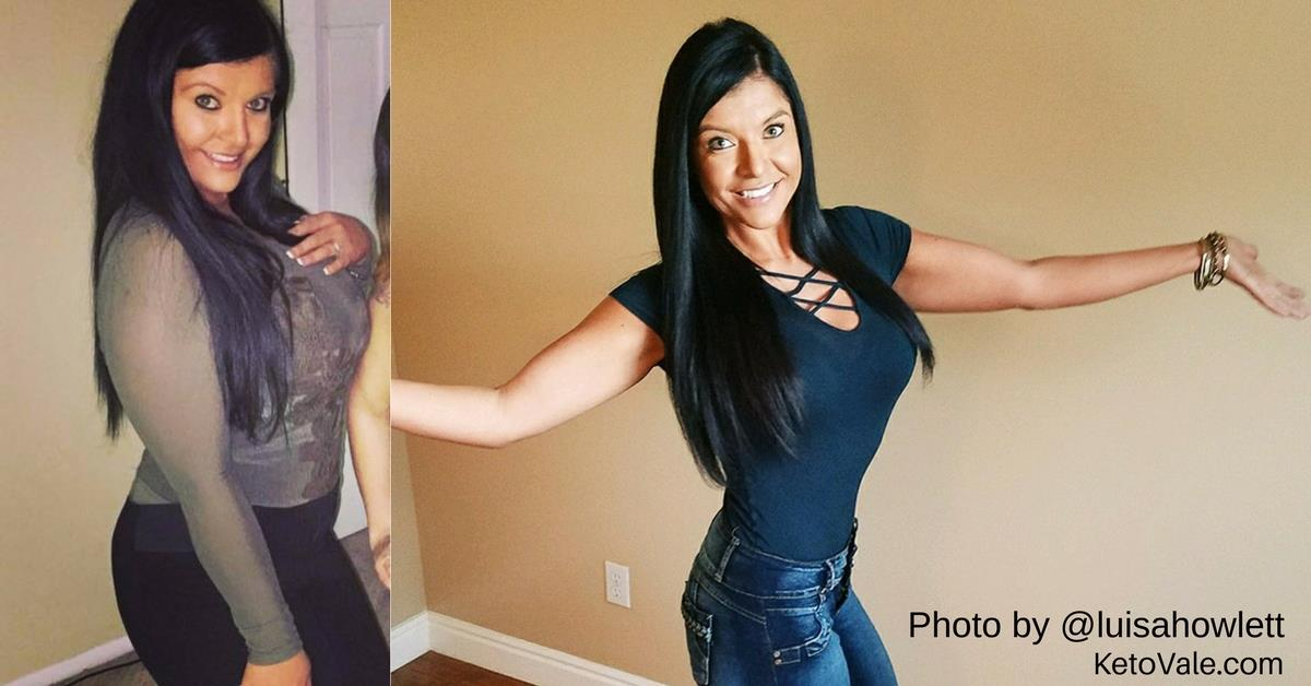 Luisa Howlett's Keto Success Story