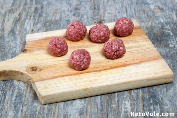 Making meatballs