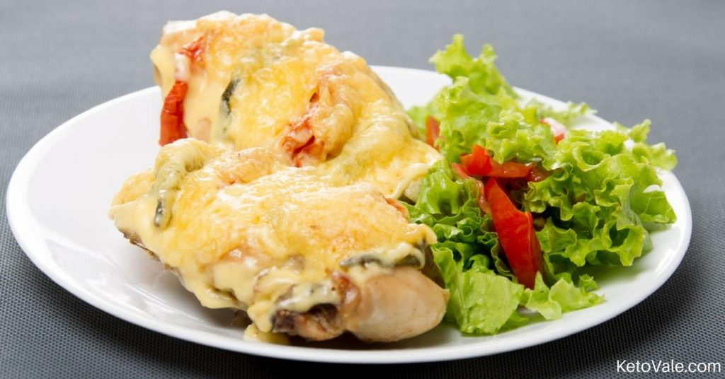 Primavera Stuffed Chicken