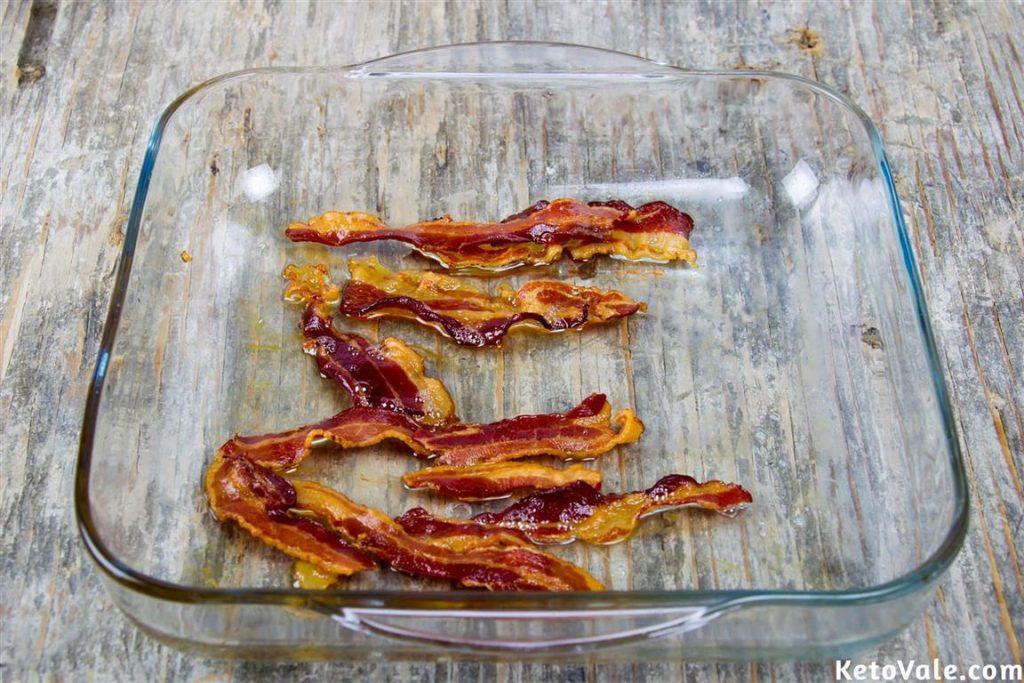 Roasting bacon