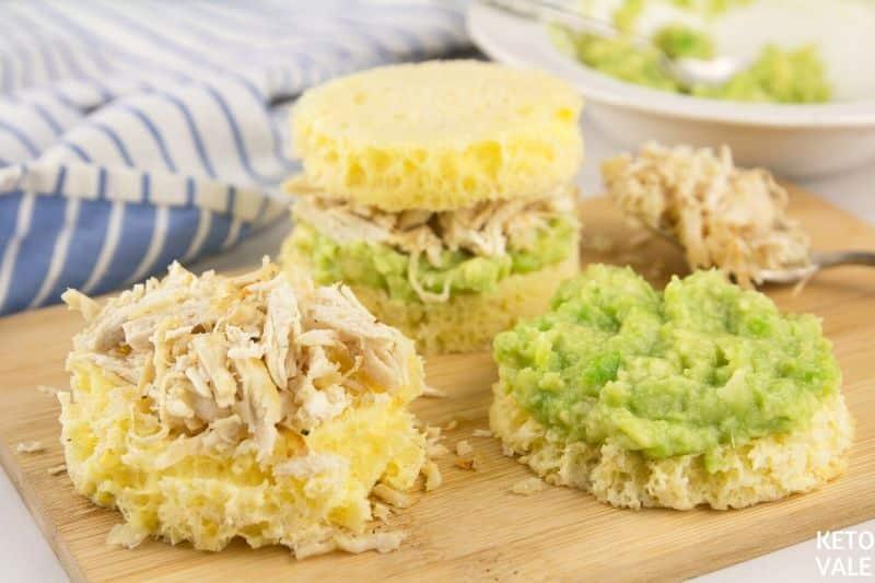 avocado chicken sandwich