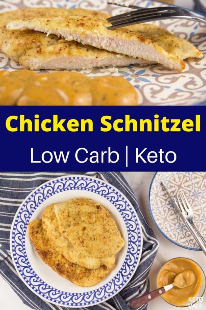 keto chicken schnitzel