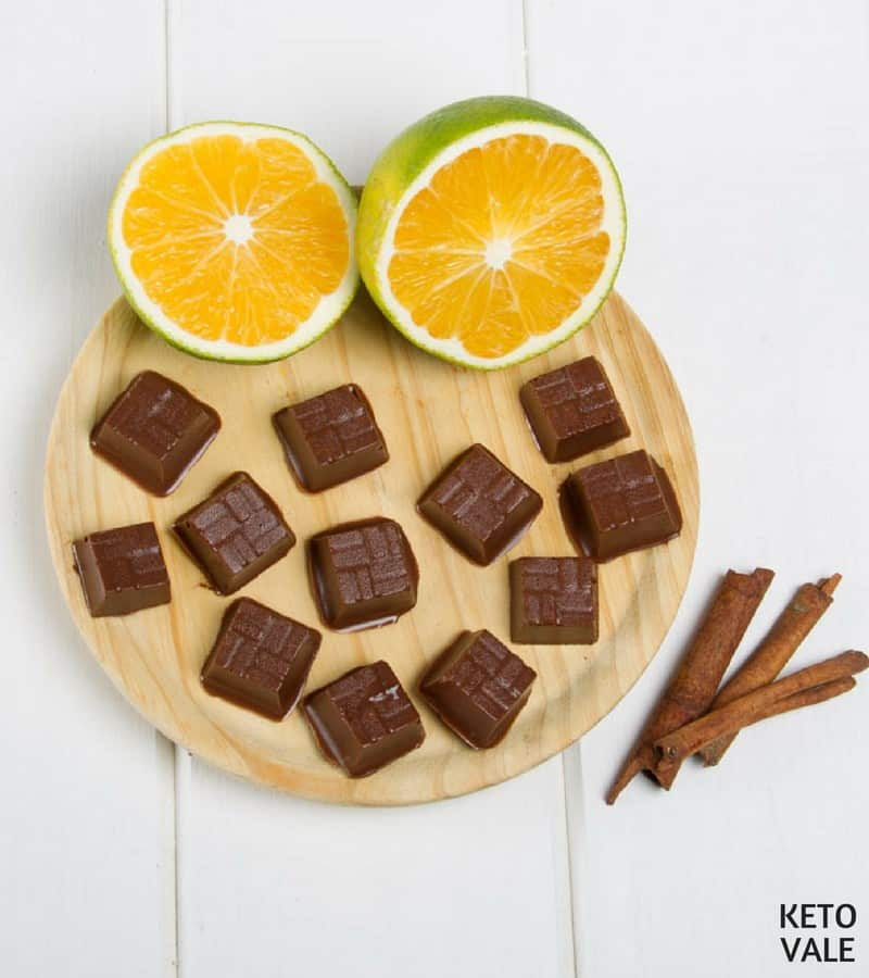 orange chocolate fat bomb recipe