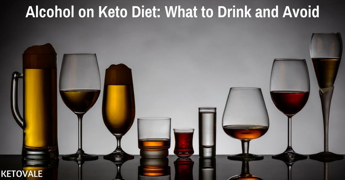 Alcohol on Keto Diet