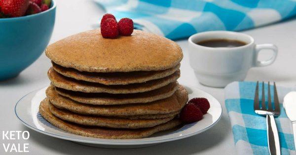 Almond Flour Flaxseed Pancakes