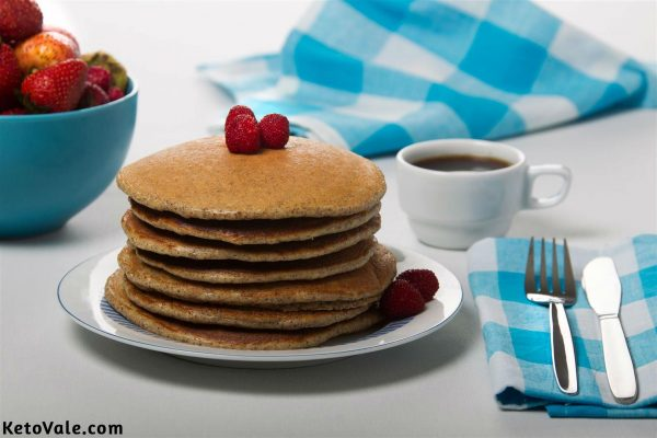 Almond Flour Flaxseed Pancakes Recipe