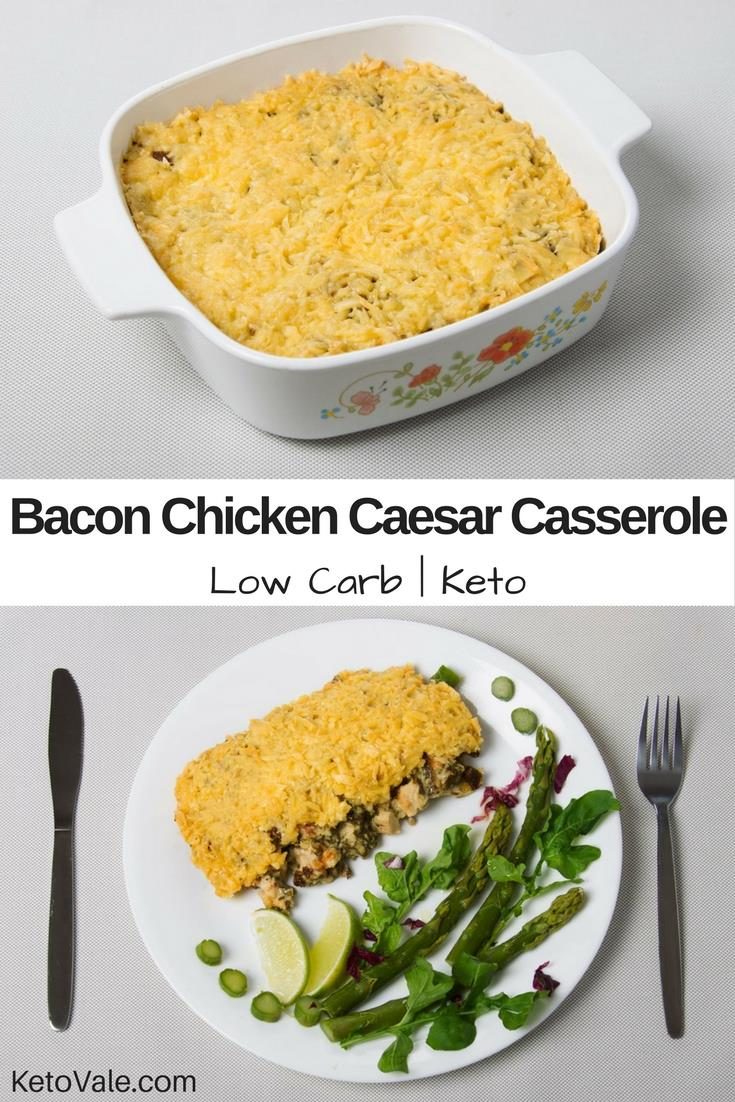 Bacon Chicken Caesar Casserole Recipe