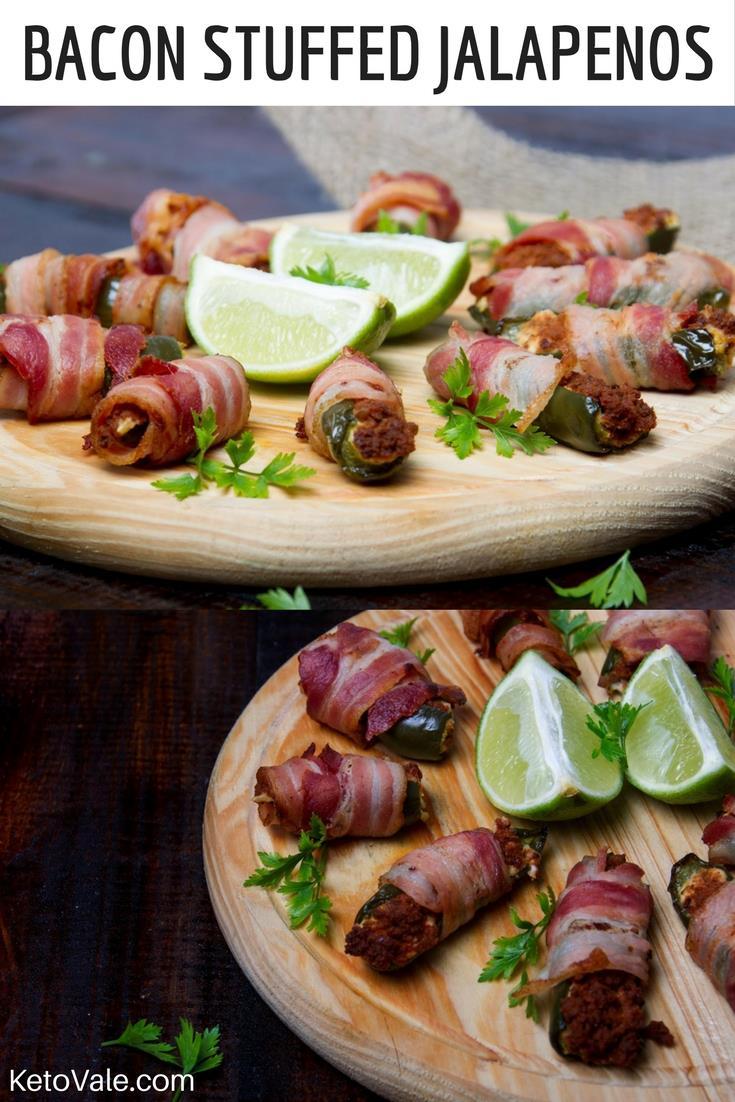 Bacon Stuffed Jalapenos Recipe