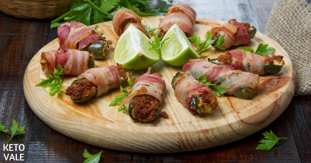 Bacon Stuffed Jalapenos