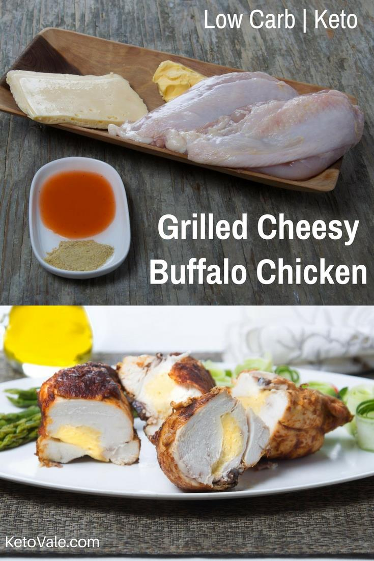 Cheese Stuffed Buffalo Chicken