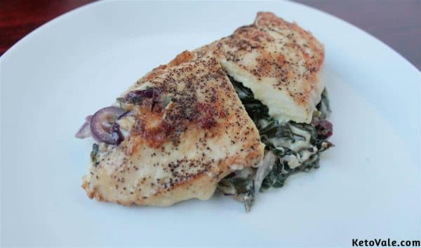 Creamy Stuffed Chicken Breast Recipe