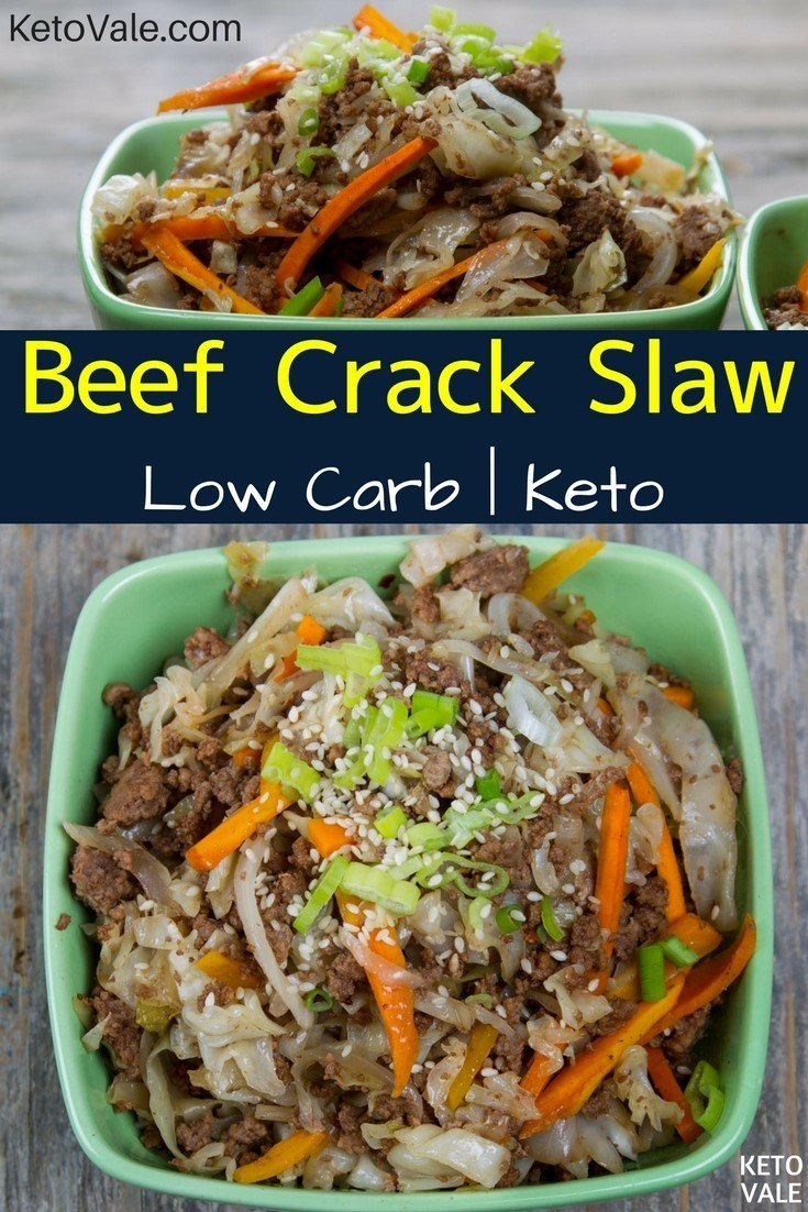 Keto Beef Crack Slaw Recipe