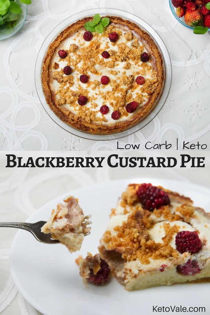 Keto Custard Pie