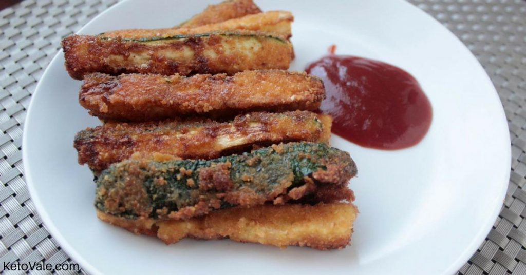 Zucchini Fries With Almond Flour