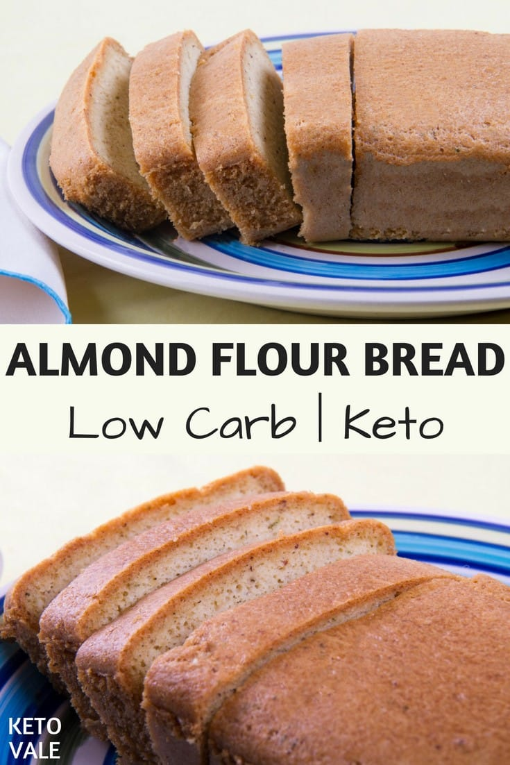 Almond Flour Bread Gluten Free Low Carb Recipe Keto Vale