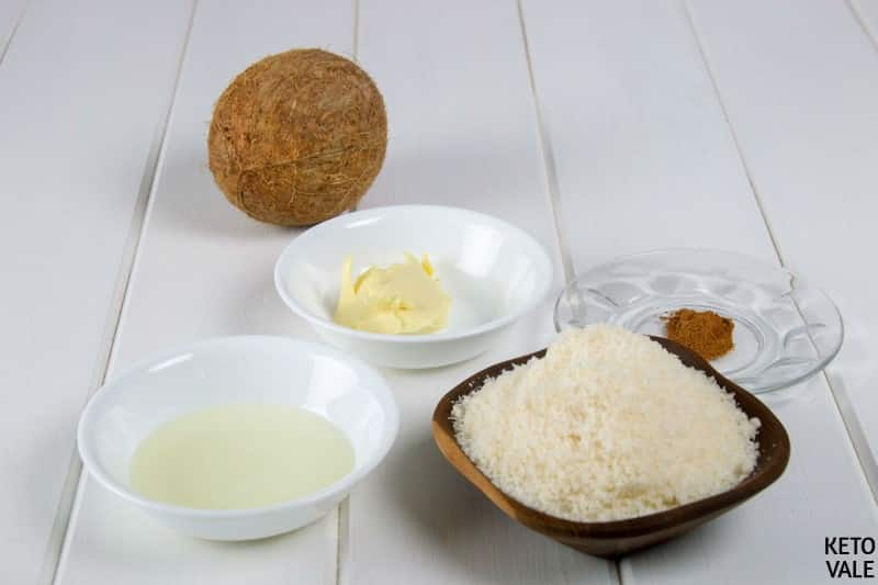 Desiccated Coconut Ingredients