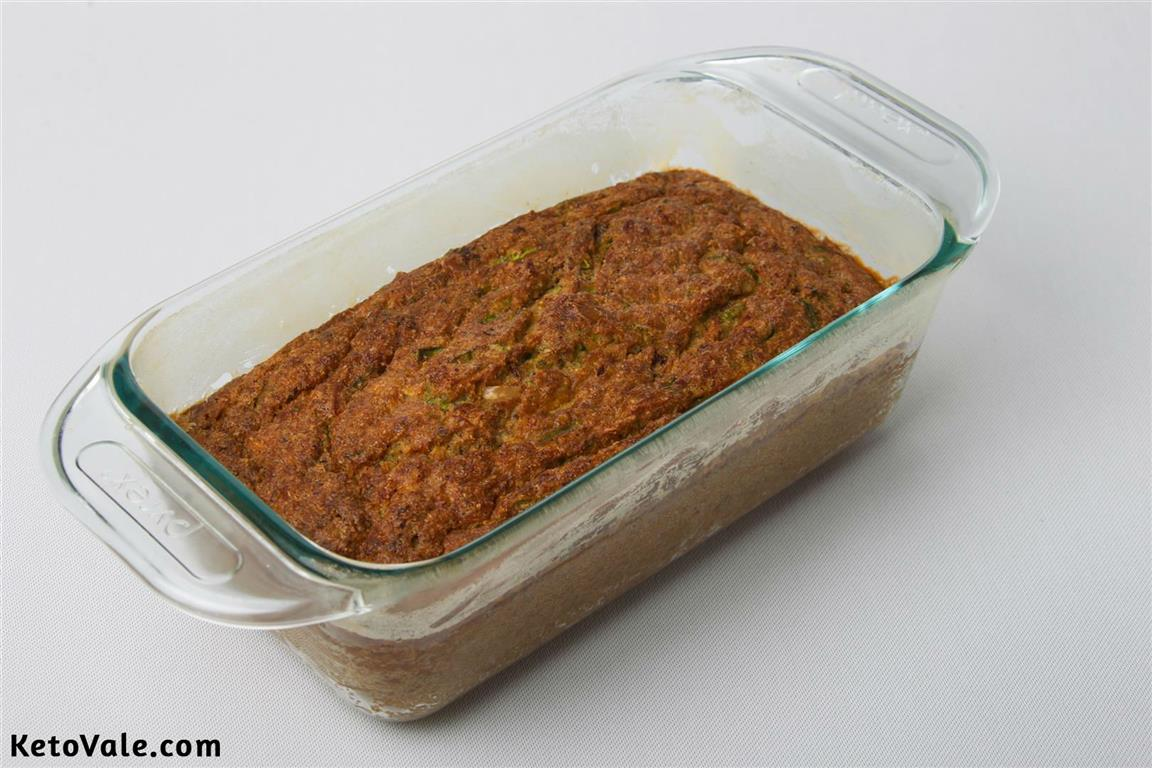 Baking Zucchini Coconut Bread