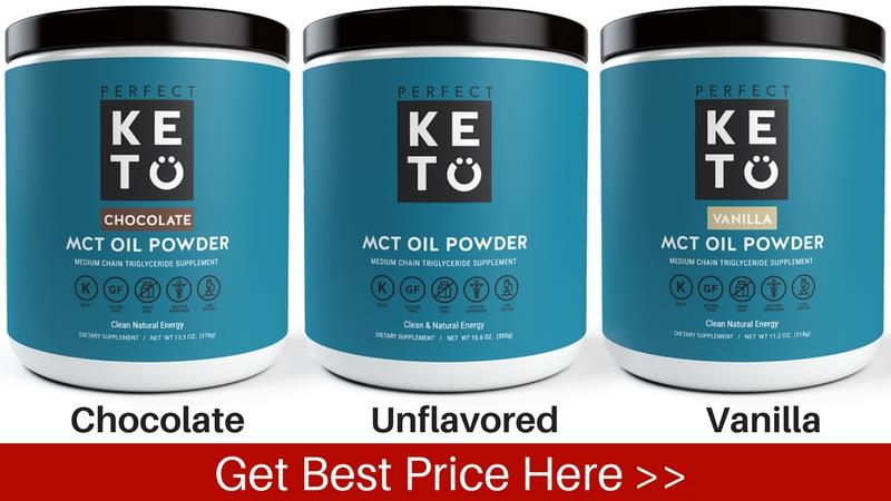 Chocolate Unflavored Vanilla MCT Powder