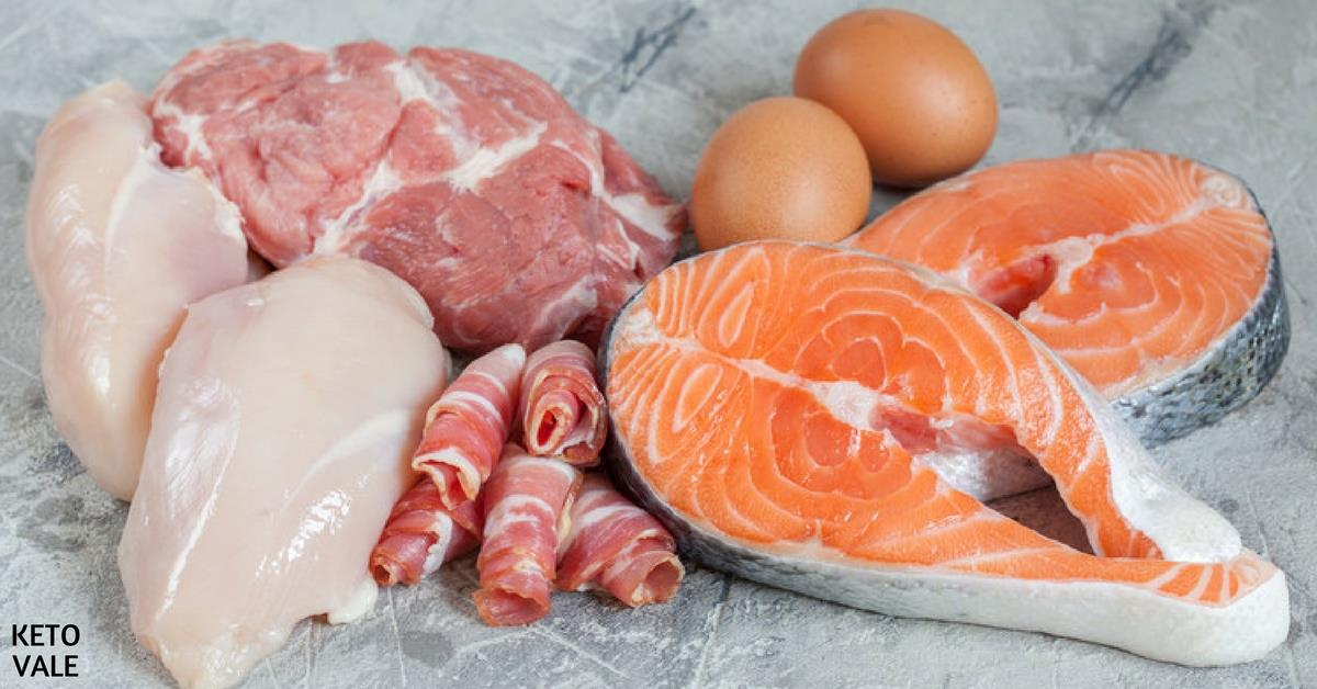 How much protein on keto diet