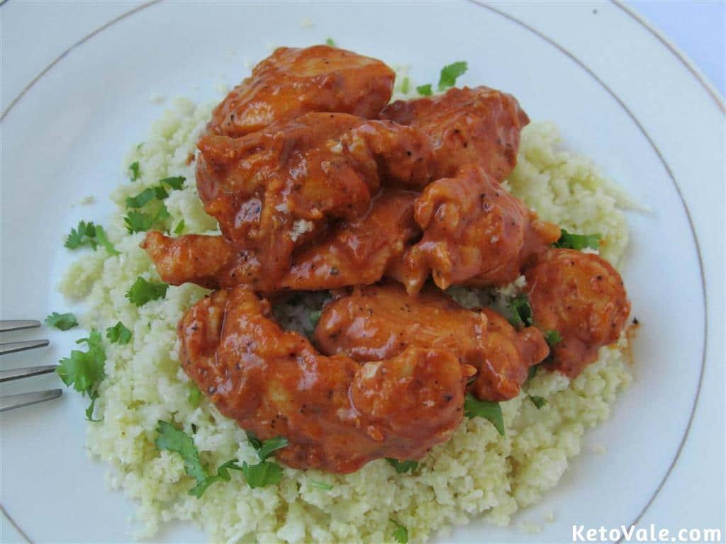 Keto Chicken Tikka Masala