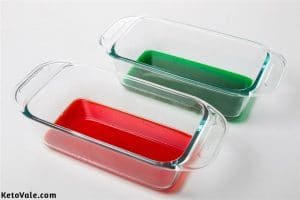 Making red and green jelly