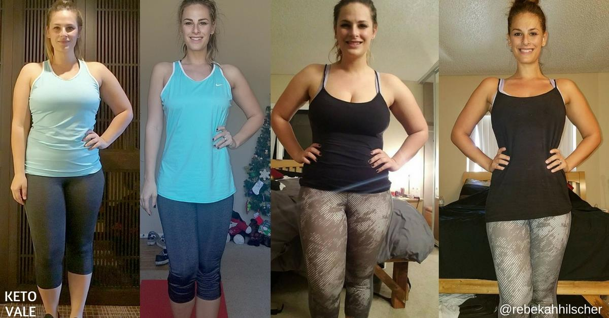 Rebekah Hilscher's Keto Success Transformation Story | KetoVale