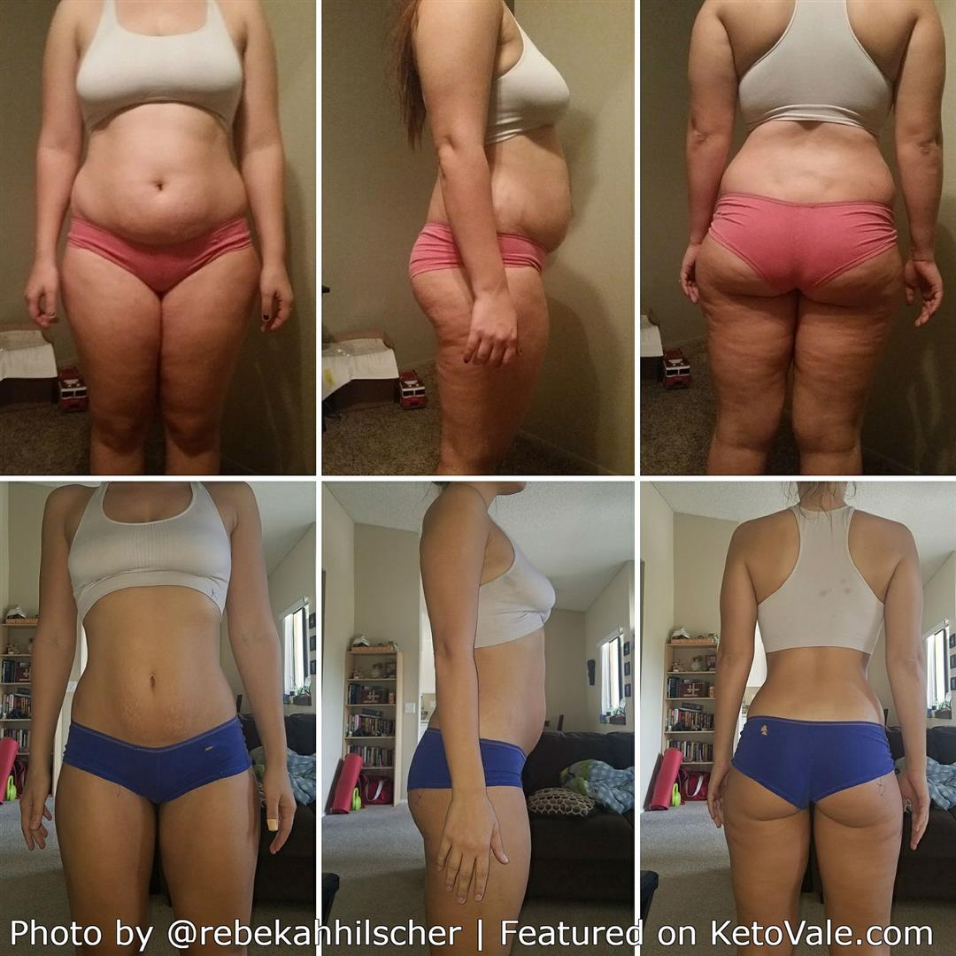 Rebekah Hilscher's Keto Weight Loss
