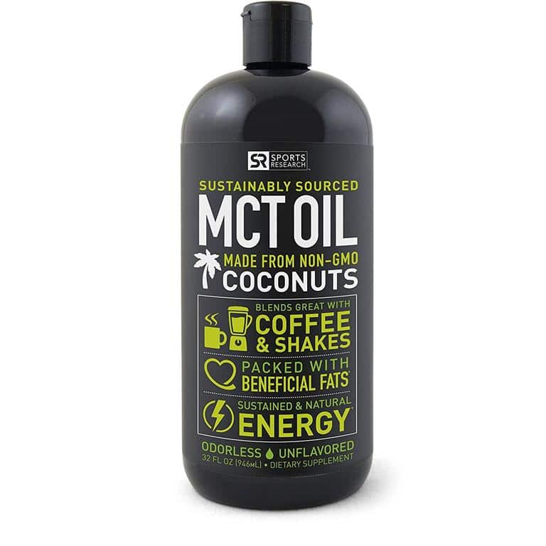 Sports Research Premium MCT Oil