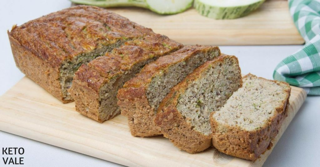 Zucchini Coconut Bread Low Carb Recipe | KetoVale