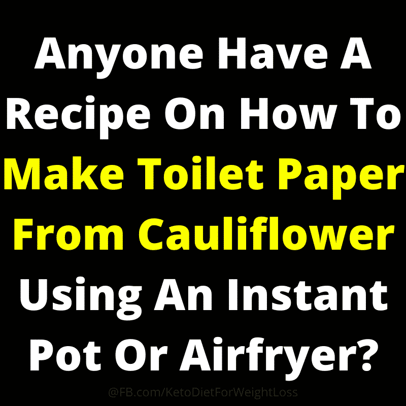 toilet cauliflower