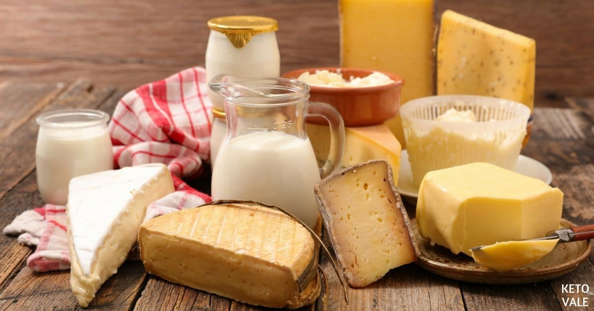 Dairy on Keto Diet