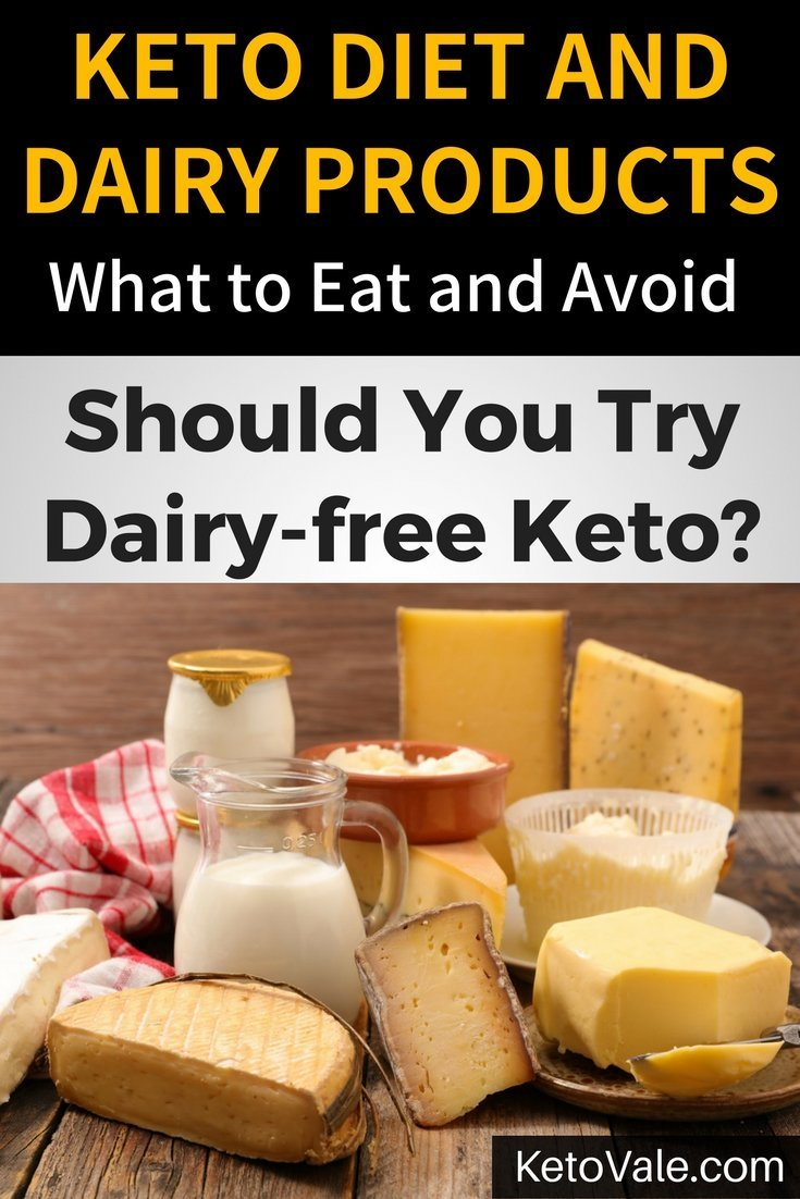 The Guide to Dairy Products on a Ketogenic Diet. Should you consume cheese, milk, heavy cream and yogurt on keto? Learn more here!