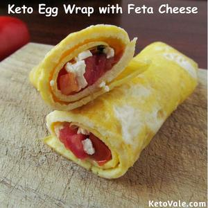 Keto Egg Wrap Recipe
