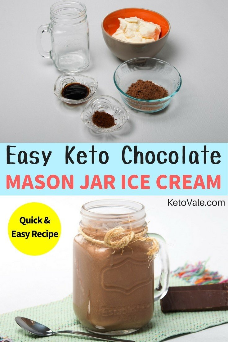 Love ice cream? Check our Keto Mason Jar Ice Cream low carb recipe here!