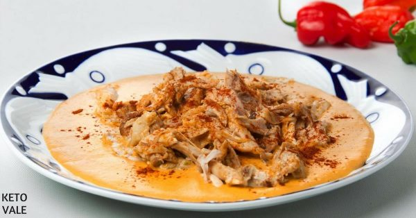 Keto Shredded Butter Chicken