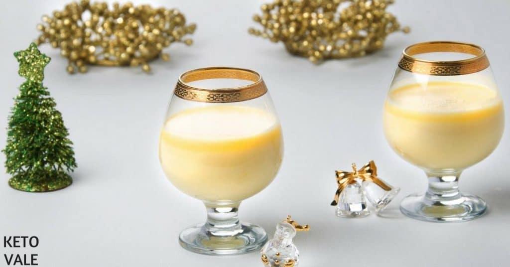Low Carb Creamy Eggnog