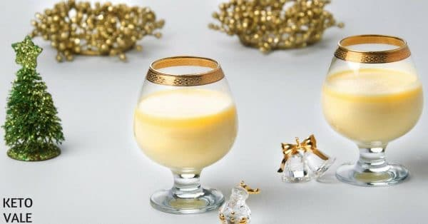 Low Carb Creamy Eggnog