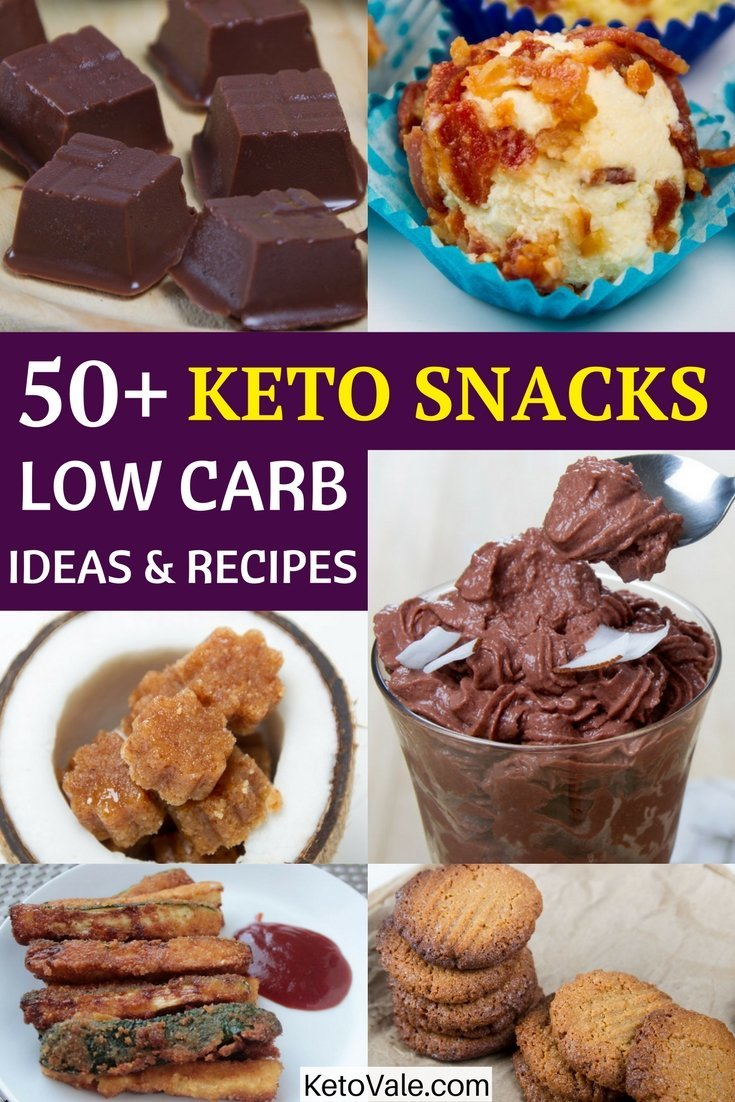 Low Carb Keto Snacks Ideas Recipes