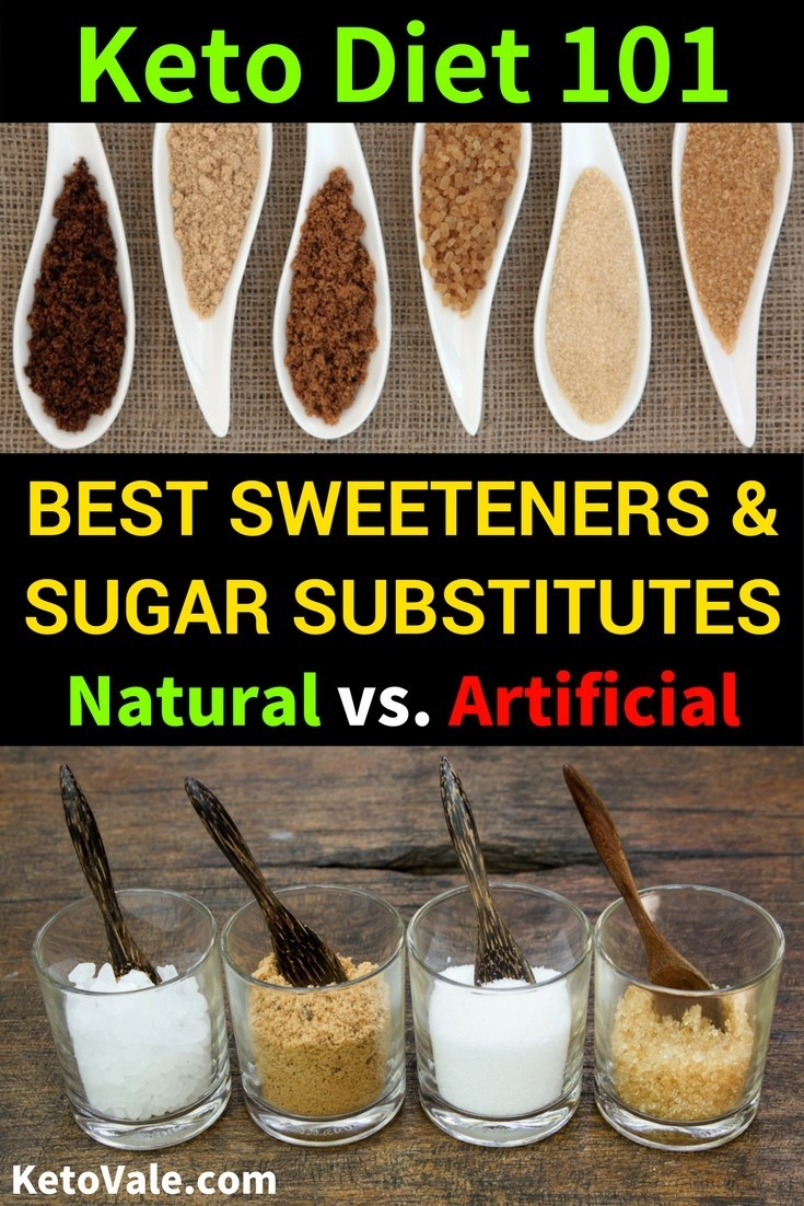Best Sweeteners & Sugar Substitutes For Low Carb Keto Diet | Keto Vale