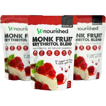 Monk fruit + Erythritol Blend