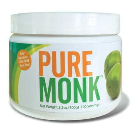Pure monk fruit
