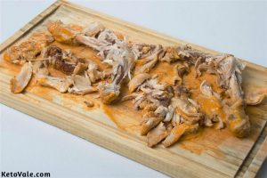 Shred Chicken Leg Meat