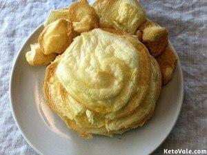 Baking meringue