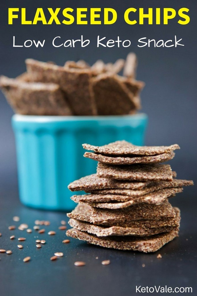 Flaxseed Chips Low Carb